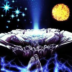 IMG_20180923_030952_500 (felikscat) Tags: photomanipulation art sun flower metal fantasy