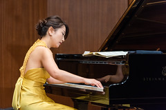 180927 Azumi Nishizawa @ Suntory Hall Blue Rose-07.jpg (Bruce Batten) Tags: friendsacquaintances honshu japan locations musicalinstruments occasions people performances reflections subjects tokyo