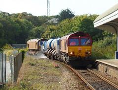 66120 & 66200 RHTT Falmouth Docks (Marky7890) Tags: dbcargo 66200 66120 class66 3j15 falmouthdocks railway cornwall maritimeline train rhtt