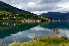 Olden - Norway (Melvin Debono) Tags: olden norway is village urban area municipality stryn sogn og fjordane county located mouth oldeelva river northern end oldedalen valley southern shore nordfjorden melvin debono canon 7d photography travel mountain water sky tree landscape