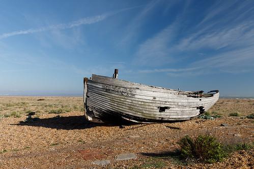 Stranded, Dungeness, UK