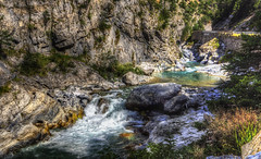 les gorges (Roberto Defilippi) Tags: 2018 562018 rodeos robertodefilippi ruscello gole gorges river acqua water