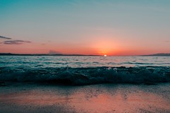 #PicOfTheDay Sunset on the beach (Candidman) Tags: sunset beach waves sand water sun afternoon