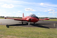 IMG_9652 (routemaster2217) Tags: northweald aviation aeroplane aircraft jetaircraft fighterjet trainingaircraft jettrainer bacjetprovostt3a britishaircraftcorporation jetprovostmk3a rollsroyceviper royalairforce raf hayehouseaviationltd xn459 gbwot