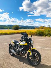 180925 Logan State Park (Fob) Tags: motorcycle scrambler ducati ducatiscrambler loganstatepark montana mt september 2018 travel trip roadtrip