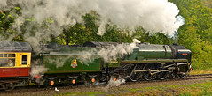 SEVERN VALLEY AUTUMN GALA (chris .p) Tags: nikon d610 shropshire highley steam svr uk autumn 2018 england 70000 september view capture britanna