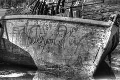 épave (pillotou) Tags: épave pillotou port dinard d300s nikond300s nikon noirblanc navale nature bretagne bâteau bois france eau marine mer