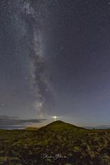 Beautiful night (Kjartan Guðmundur) Tags: iceland ísland nightscape nocturne nightphotography ngc milkyway stars sky lighthouse lava rocks outdoor hill kjartanguðmundur canoneos5dmarkiv sigma14mmf18art