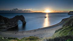Durdle Door (markwalkerphotographer) Tags: leefilters coast sand manfrotto uk landscapes dorset canonuk durdledoor seascape jurassic arch unesco cove cliffs clifftop england purbeck bigstopper