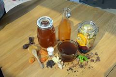 Общая_напитки-DSC_1975 (info@oxumoron.com) Tags: напитки refreshments getränk лемон lemon zitrone ginger ingwer erdbeeren strawberry мёд honey honig корица cinnamon zimt