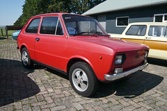 FIAT 133 (1190147) (Le Photiste) Tags: clay seatsamartorellspain seat133 fiat133 spanishcar oddvehicle oddtransport rarevehicle redmania simplyred wijnjewoudefryslânthenetherlands fryslânthenetherlands thenetherlands panasonic panasonicdmcfx30 afeastformyeyes aphotographersview autofocus artisticimpressions alltypesoftransport anticando blinkagain beautifulcapture bestpeople'schoice bloodsweatandgear gearheads creativeimpuls cazadoresdeimágenes carscarscars carscarsandmorecars digifotopro damncoolphotographers digitalcreations django'smaster perfectview friendsforever finegold fandevoitures fairplay greatphotographers groupecharlie peacetookovermyheart clapclap hairygitselite ineffable infinitexposure iqimagequality interesting inmyeyes livingwithmultiplesclerosisms lovelyflickr myfriendspictures mastersofcreativephotography niceasitgets photographers prophoto photographicworld planetearthbackintheday planetearthtransport photomix soe simplysuperb slowride showcaseimages simplythebest thebestshot thepitstopshop themachines transportofallkinds theredgroup thelooklevel1red vividstriking wheelsanythingthatrolls yourbestoftoday wow