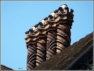 Ornate Chimneys.