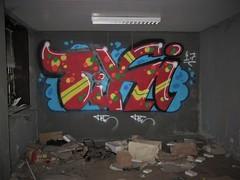 Tiki / De Pinte - 22 okt 2018 (Ferdinand 'Ferre' Feys) Tags: gent ghent gand belgium belgique belgië streetart artdelarue graffitiart graffiti graff urbanart urbanarte arteurbano ferdinandfeys