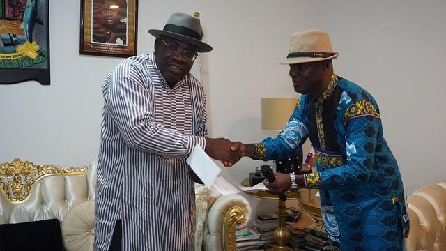 HSDickson - Condolence visit by Association of Bayelsa indigenes in Abuja. October 2018