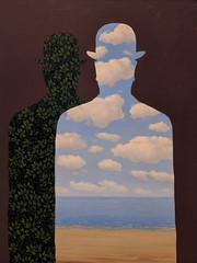 """High Society"", Rene Magritte (1965/66) (Joey Hinton) Tags: sanfrancisco california unitedstates rene magritte exhibit museum modern art google pixel2 andriod smartphone cellphone cameraphone phone"