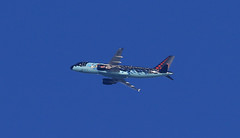 Brussels Airlines / Airbus A320-214 / OO-SNB (vic_206) Tags: brusselsairlines airbusa320214 oosnb tintincomicslivery bcn lebl