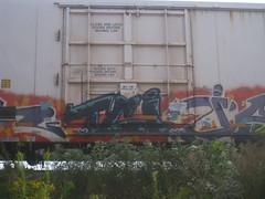 TCI (Billy Danze.) Tags: freight graffiti heat isto tci