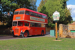 Dallington Daimler (2) (DH73.) Tags: bnh246c 246 northampton corporation transport daimler cvg6 roe dallington green