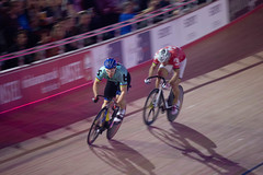 Match sprints (alasdair massie) Tags: track race cyclist velodrome london6day london cycling olympic