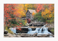 Glade Creek Mill 2018 (hickspics65) Tags: babcock mill colors fall waterfall rocks waterwheel gristmill gladecreekgristmill babcockstatepark westvirginia foilage