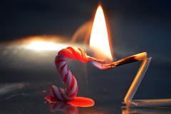 Macro Mondays Perfect Match (Group Founder) Tags: macromondaysperfectmatch macromondays perfectmatch matchandcandle flame nikon nikond3200 macro red redandblack match candle serendipitousswans