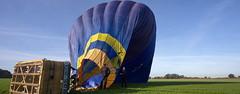 zurück am Boden (Geonaut) Tags: ballonfahrt marldorsten morgens frühnebel morgenrot luftikusmarkus