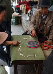 Praying local game - Shigatse - Tibet (Sjak11) Tags: prayerrolls tibet shigatse sony