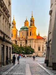 ST NICHOLAS CHURCH (PHOTOGRAPHY|bydamanti) Tags: prague czechrepublic cz stnicholaschurch church oldtown oldtownsquare europe iphonex