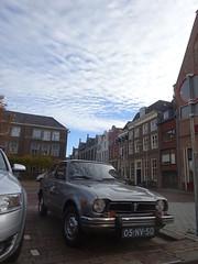 Ik was er net in Teuge langsgefietst! 05-NV-50 HONDA CIVIC AUTOMATIC  1976 Deventer (willemalink) Tags: ik was er net teuge langsgefietst 05nv50 honda civic automatic 1976 deventer
