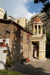 Nea Panagia Church (demeeschter) Tags: greece thessaloniki macedonia city town building architecture museum tower archaeology historical heritage roman arch agora sea harbour people art restaurant shop street boat