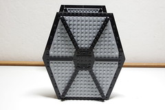 First Order TIE Fighter: Left View (Evrant) Tags: lego star wars tie fighter starfighter custom moc spaceship ship first order evrant