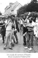 Bruno Coutard et Hubert Jumel défile à la Saint-Louis
