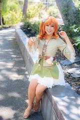 IMG_7801 (moshitea) Tags: ラブライブ コスプレ コスプレイヤー アニメ cosplay cosplayer anime portrait kousakahonoka 高坂穂乃果 girl fanime fanime2018