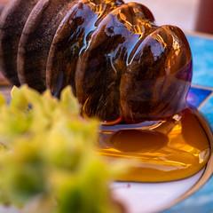 Thyme and Honey (fotogake) Tags: remedy macromonday thyme honey honig thymian yummy