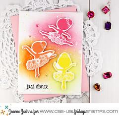 Just Dance (akeptlife) Tags: casualfridays card cardmaking stamping stamp ballerina tutu papercrafting justdance