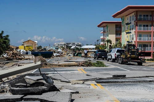 Mexico Beach after the hurricane