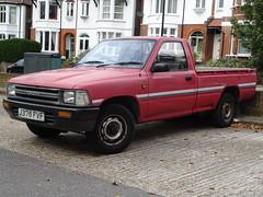 1992 Toyota HiLux Pickup (Neil's classics) Tags: vehicle 1992 toyota hilux pickup