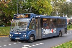 Diamond Bus NW MX09HJG (Mike McNiven) Tags: rotala diamond bus northwest ecclesdepot hollyhedgeroad wythenshawe manchester albertsquare reddish holdsworthsquare