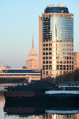 QWZ04218 (qwz) Tags: hartbleimc28150mm hartblei150mm skyscraper москва moscow architecture river bridge cityscape