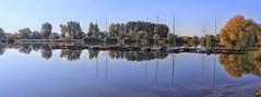 Kinzigsee (wernerfunk) Tags: see lake steg boote spiegelung wasser hessen