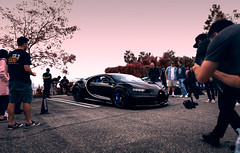 Attention Whore (mattcphotos) Tags: bugatti chiron veyron pagani koenigsegg supercar hypercar car automotive transportation mobile attention crowd carshow ambient pink purple infrared expensive exotic sunsetgt