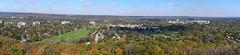Hamilton West End Fall View (AncasterZ) Tags: hamilton panorama stitched microsoftice fall fallcolours autumn autumncolours yashicaml50mmf17