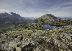 High Stile from Haystacks (Boxertrixter) Tags: mountains lakedistrict cumbria england view distance valleys rocks tarn englishlakes northernengland beauty nature walking wainwright haystacks olympuscamera olympuspenf olympus714f28pro mirrorless microfourthirds
