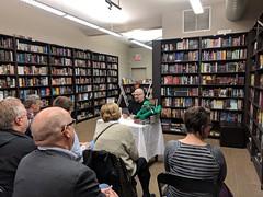 Charlie Stross reading at Bakkaphoenix, Feorag in the background 1, Toronto, Ontario, Canada (gruntzooki) Tags: toronto ontario ont canada charliestross bakkaphoenix bakka