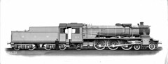 India Railways - Madras and Southern Mahratta Railway (MSMR) Class XB 4-6-2 steam locomotive Nr. 223 (Vulcan Foundry 4692 / 1935) (HISTORICAL RAILWAY IMAGES) Tags: train railway india vf vulcanfoundry msmr 462 steam locomotive
