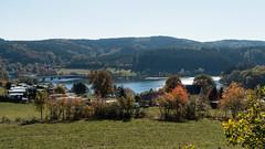 Listertalsperre (MR@tter) Tags: 169 attendorn deutschland herbst kreisolpe listertalsperre nrw sauerland meinerzhagen landschaft landscape reservoir sonydscrx100m3 de fall geotagged
