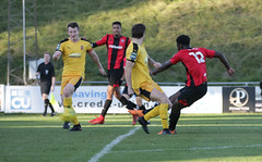 Lewes 2 Folkestone Invicta 0 20 10 2018-298-2.jpg (jamesboyes) Tags: lewes folkestoneinvicta football soccer fussball calcio voetbal amateur bostik isthmian goal score celebrate tackle pitch canon 70d dslr