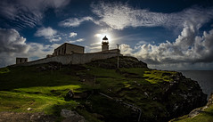 Neist Point Lighthouse 3 (Bilderschreiber) Tags: isle skye scotland lighthouse leuchtturm insel schottland sun sonne light licht backlight gegenlicht