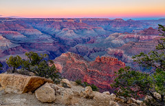 Dusk at Powell Point (Greg Lundgren Photography) Tags: grandcanyon nationalpark southrim powellpoint dusk twilight landscape arizona sunset southwest desert