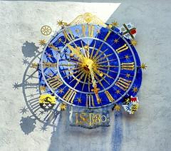 Gross-Ostheim Uhr (wernerfunk) Tags: clock turmuhr hessen